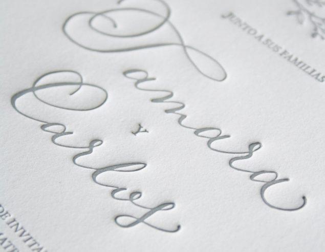 Letterpress - The Spaniel Studio